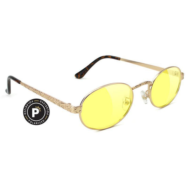 ZION POLARIZED - GOLD/ YELLOW LENSES