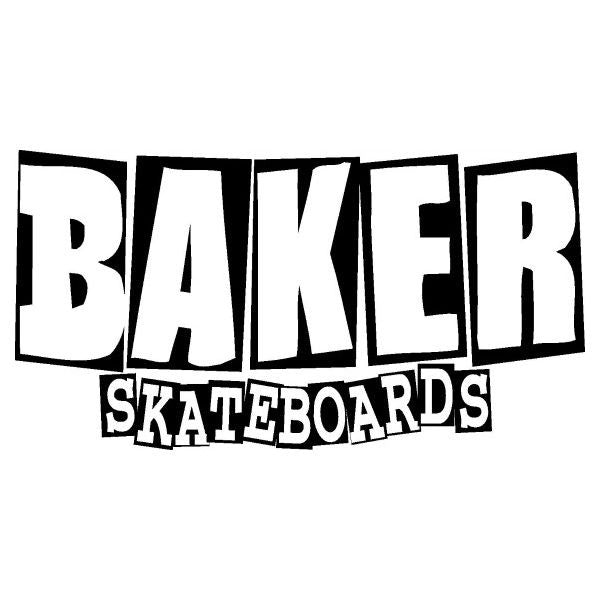 BAKER BRAND LOGO STICKER PACK