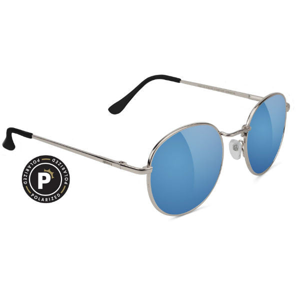 CARLOS POLARIZED SILVER/TEAL MIRROR