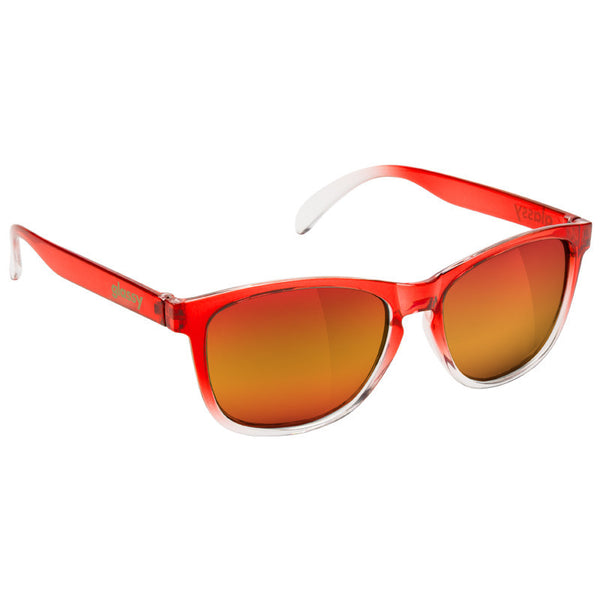 Deric - Red Transparent Fade/Red Mirror