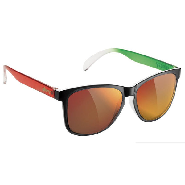 DERIC - BLACK/ GREEN/ WHITE/ RED (TICOS)