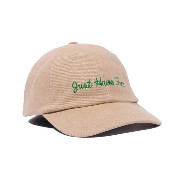 JHFAMILY DAD HAT - KHAKI/GREEN