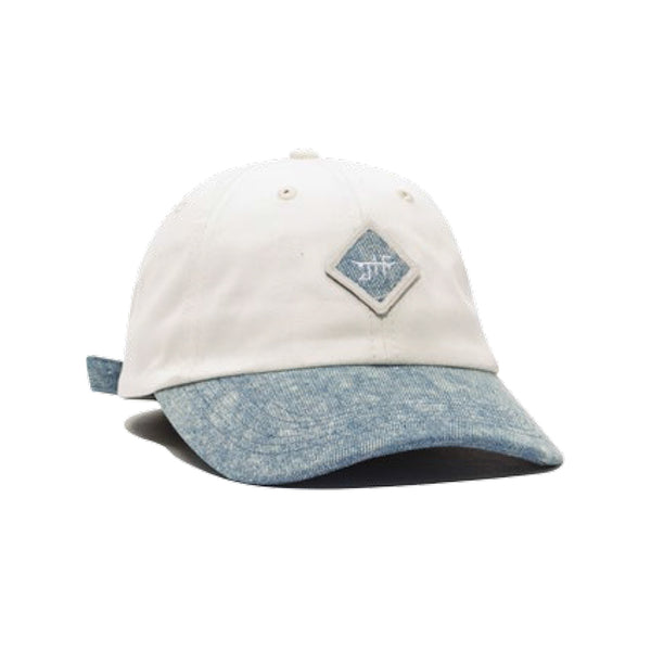 LEGACY DAD HAT - OFF WHITE / DENIM