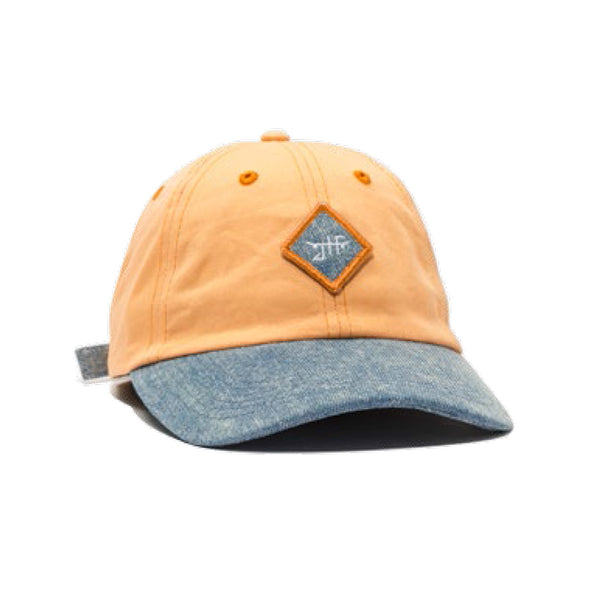 LEGACY DAD HAT - PEACH / DENIM