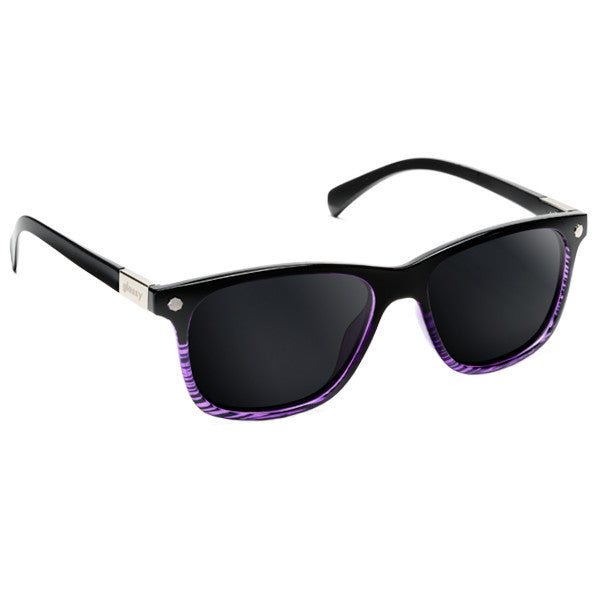Biebel - Black/Purple Tort Polarized