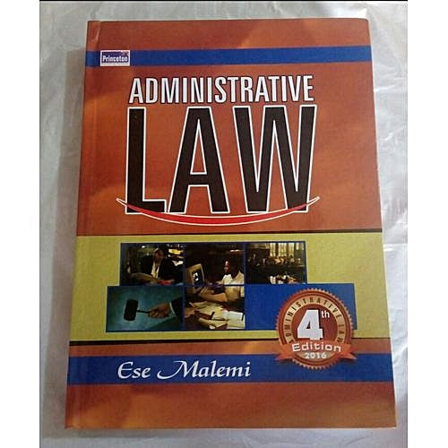 Administrative Law - Online Bookshop in Nigeria | Shop Kids, health, romantic & more Books!