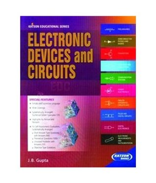 Electronic Devices and Circuits EDC - Online Bookshop in Nigeria | Shop Kids, health, romantic & more Books!