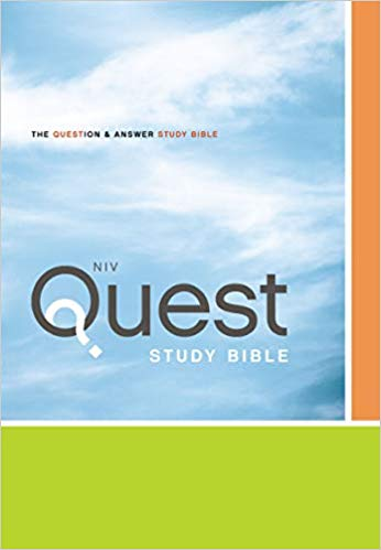 NIV quest study bible - Online Bookshop in Nigeria | Shop Kids, health, romantic & more Books!