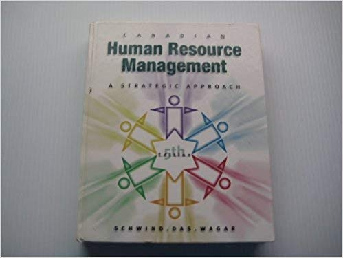 Canadian Human Resource Mgt Strategic Approach - Online Bookshop in Nigeria | Shop Kids, health, romantic & more Books!