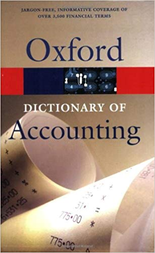 Oxford Dictionary of Accounting - Online Bookshop in Nigeria | Shop Kids, health, romantic & more Books!