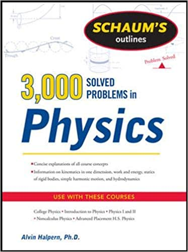 Schaum's Outlines: 3000 Solved Problems in Physics - Online Bookshop in Nigeria | Shop Kids, health, romantic & more Books!