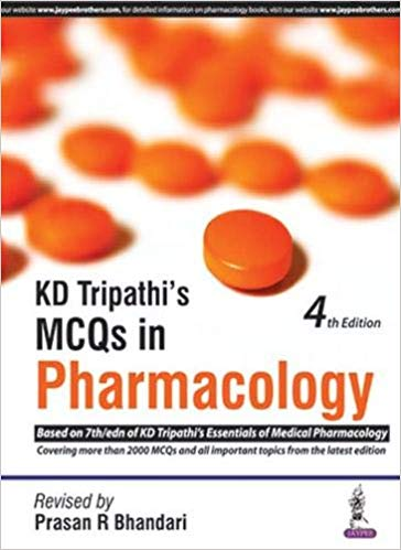 KD Tripathis MCQS in Pharmacology - Online Bookshop in Nigeria | Shop Kids, health, romantic & more Books!