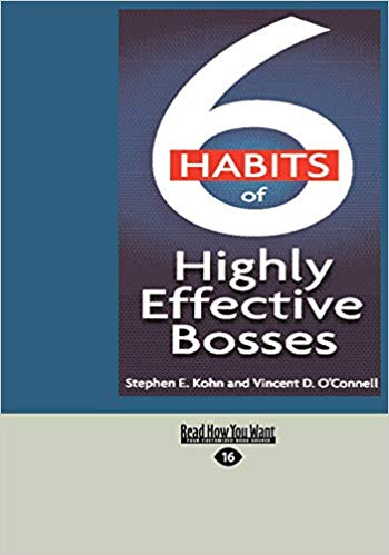 6 habits of highly effective bosses - Online Bookshop in Nigeria | Shop Kids, health, romantic & more Books!