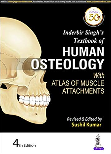 Inderbir Singh's Textbook of Human Osteology With Atlas of Muscle Attachments - Online Bookshop in Nigeria | Shop Kids, health, romantic & more Books!