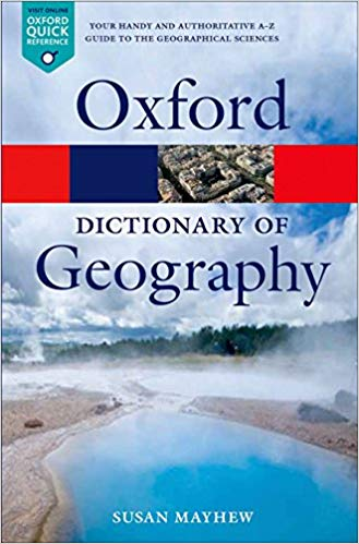 Oxford Dictionary of Geography - Online Bookshop in Nigeria | Shop Kids, health, romantic & more Books!