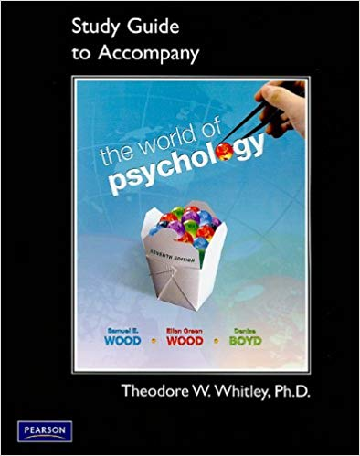Study Guide for the World of Psychology - Online Bookshop in Nigeria | Shop Kids, health, romantic & more Books!