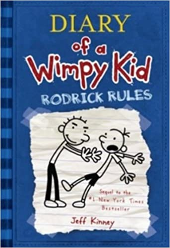 Diary of A Wimpy Kid: Rodrick Rules - Online Bookshop in Nigeria | Shop Kids, health, romantic & more Books!