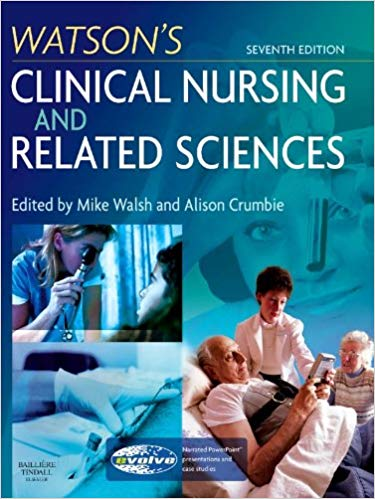 Watson's Clinical Nursing and Related Science - Online Bookshop in Nigeria | Shop Kids, health, romantic & more Books!