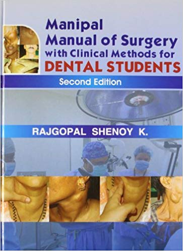 Manipal Manual of surgery With Clinical Methods for dental students - Online Bookshop in Nigeria | Shop Kids, health, romantic & more Books!