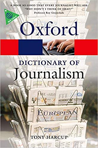 A Dictionary of Journalism (Oxford Quick Reference) - Online Bookshop in Nigeria | Shop Kids, health, romantic & more Books!