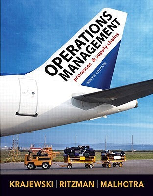 Operation Management: Processes and Supply Chains 9th Edition - Online Bookshop in Nigeria | Shop Kids, health, romantic & more Books!