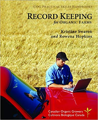 Record keeping for Organic Growers - Online Bookshop in Nigeria | Shop Kids, health, romantic & more Books!