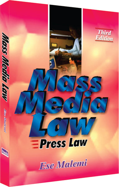 Mass Media Law and Press Law - Online Bookshop in Nigeria | Shop Kids, health, romantic & more Books!