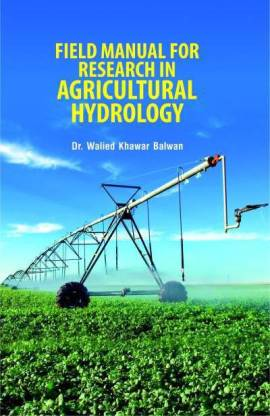 Field Manual for Research in Agricultural Hydrology  - Online Bookshop in Nigeria | Shop Kids, health, romantic & more Books!