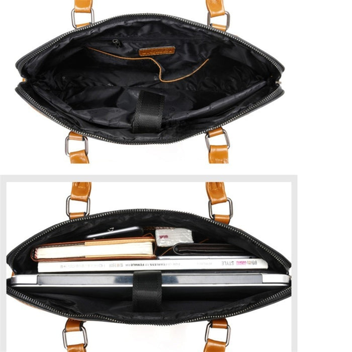 Waterproof  Leather Business Briefcase   Bag - Online Bookshop in Nigeria | Shop Kids, health, romantic & more Books!