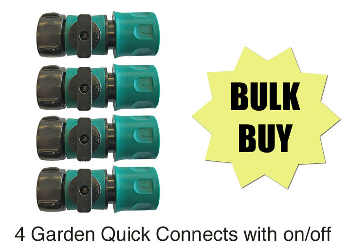 Garden quick connect on off valve Canada