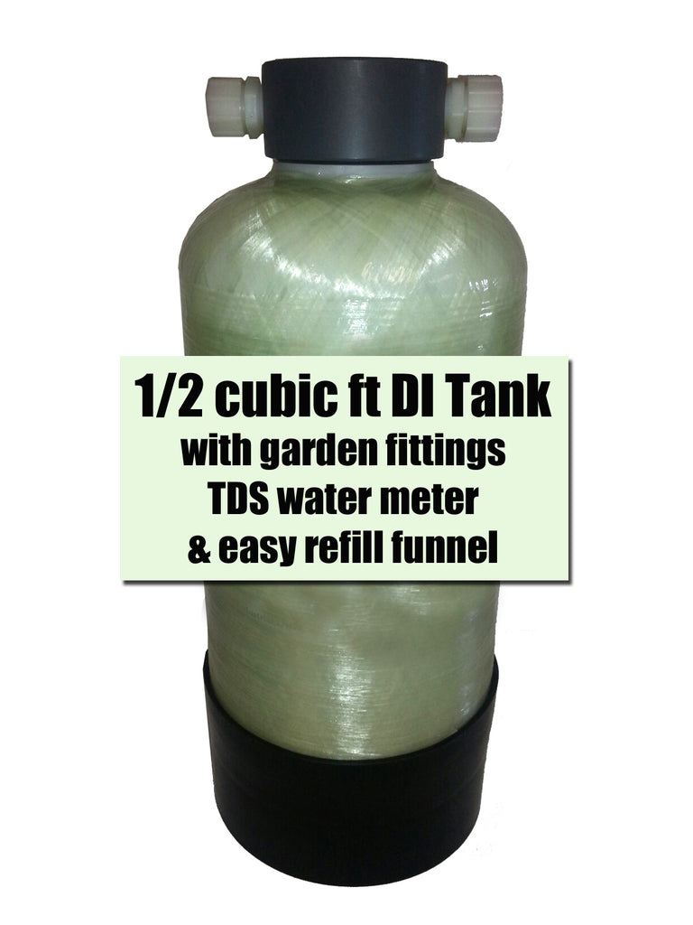 DI Tank for pure water window cleaning