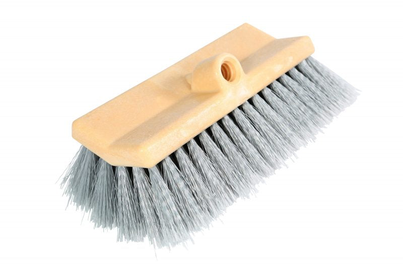 Bi-Level split bristle soft brush