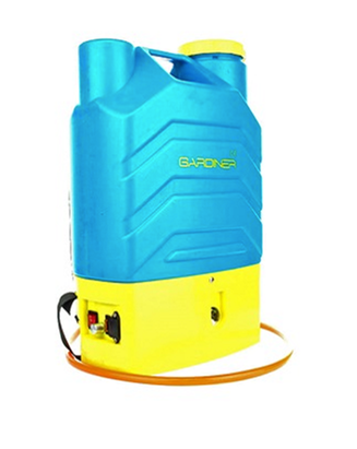 Gardiner Backpack for waterfed cleaning