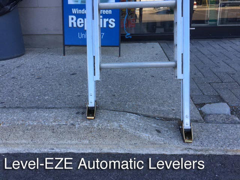 Level-EZE Automatic Ladder Levelers