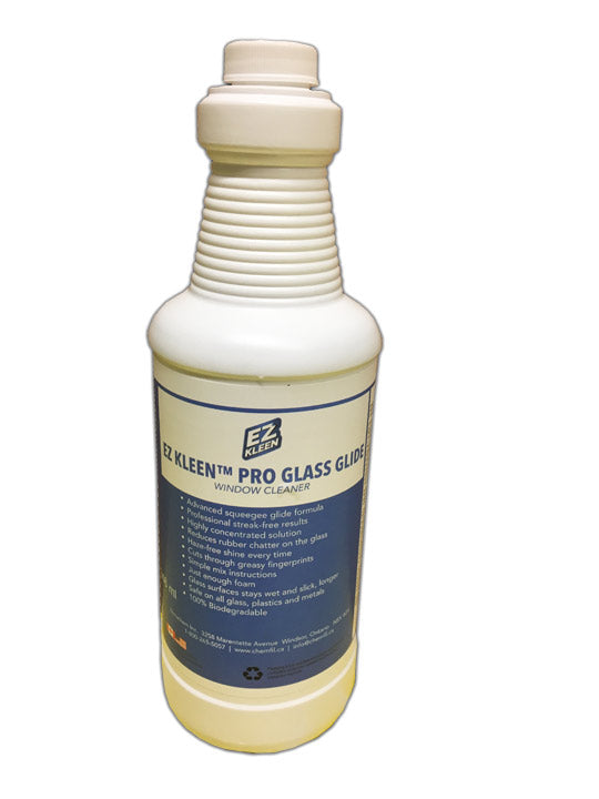 Pro Glass Glide window cleaning soap