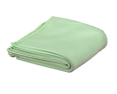 "10 Pack & 50 Pack - MicroWipe 16""x16"" Glass Detailing/Polishing Cloth - GREEN"