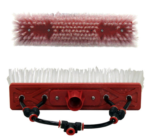 "12"" Tucker Dual Trim 2 and 4 jet Brushes"