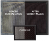 screen magic cleaning results