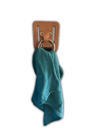 Bull Ring Towel Holder