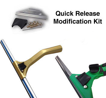 quick release modification kits for Ledger and Unger 0° squeegee