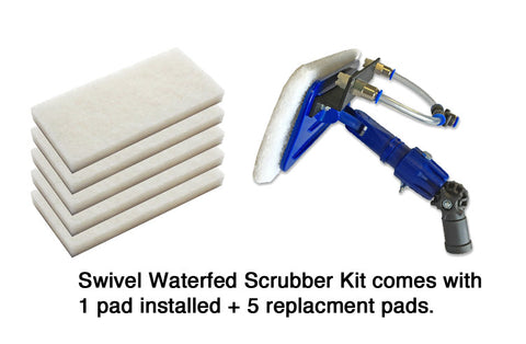 *Waterfed Swivel Scrubber