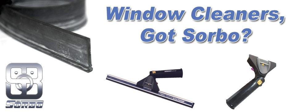 Sorbo Window Cleaning tools