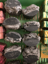 Load image into Gallery viewer, Himalayan Salt and Activated Charcoal Bar