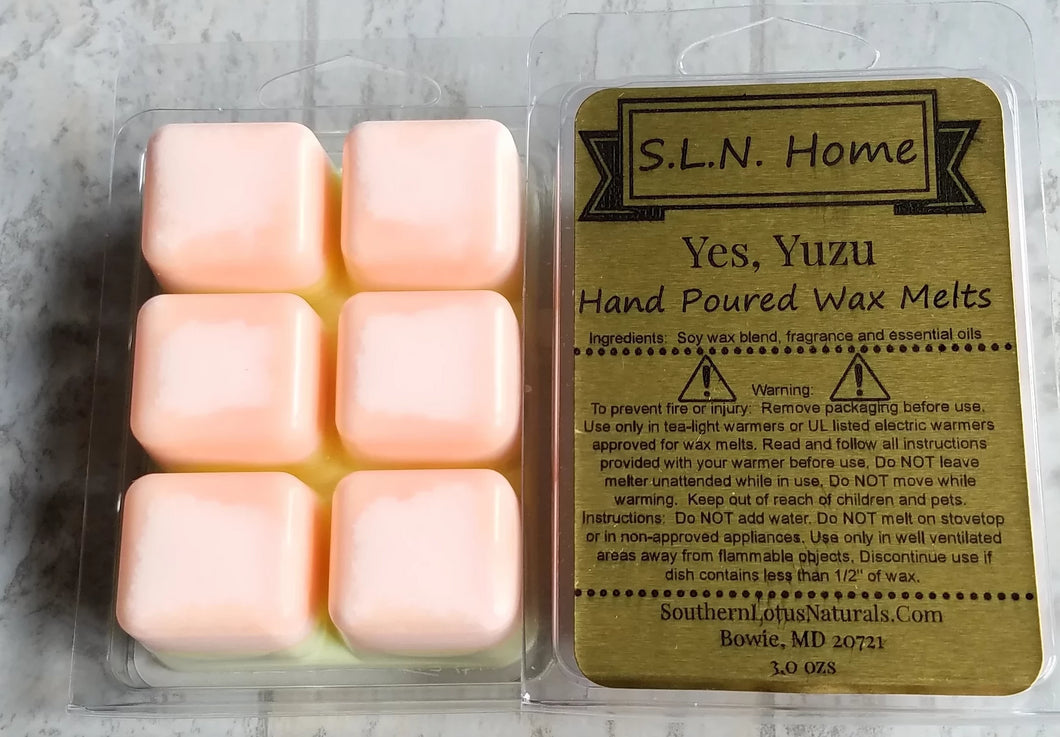 Hand Poured Soy Wax Melts - Aromatic