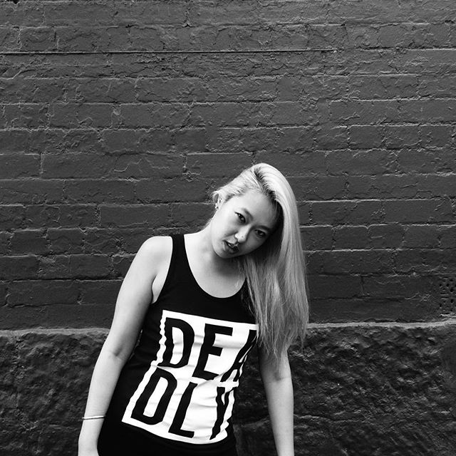 Deadly Singlet Dress (Black)