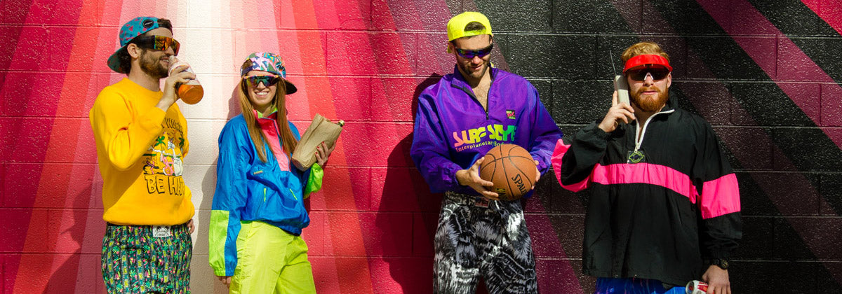 80s and 90s Retro Clothing