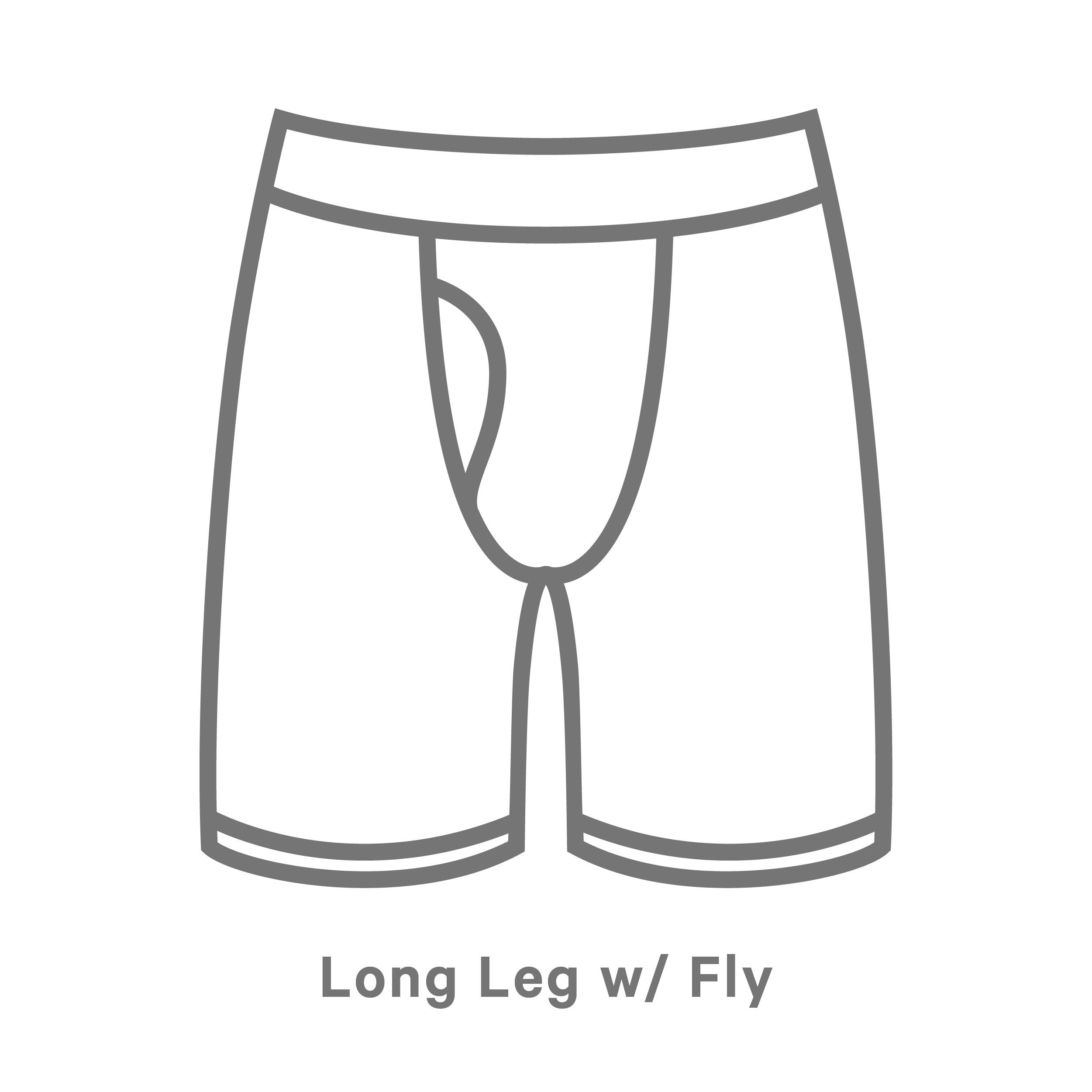 Long Boxer With Fly