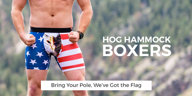 Guys Hog Hammock Boxer Briefs