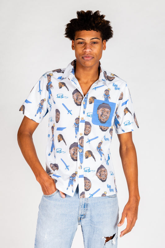 The Derrick Henry | White NFLPA Hawaiian Shirt