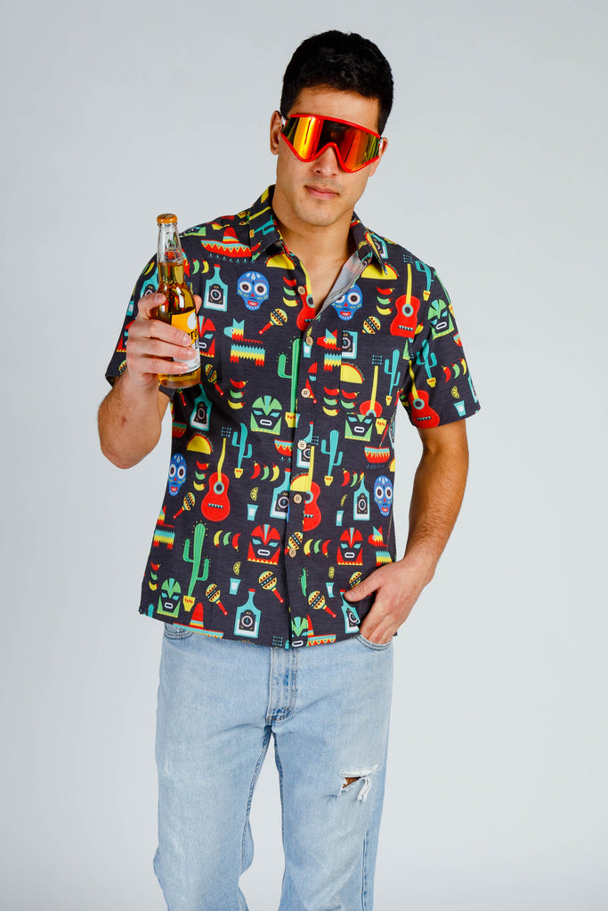 The El Borracho | Cinco de Mayo Stretch Hawaiian Shirt